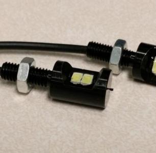 Keband number plate light bolt