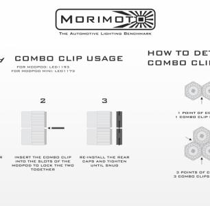 MORIMOTO MODPOD MINI COMBI CLIP