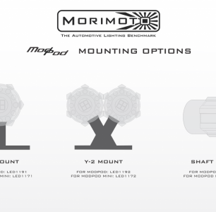 MORIMOTO MODPOD T SINGLE MOUNT