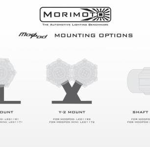 MORIMOTO MODPOD MINI SHAFT MOUNT