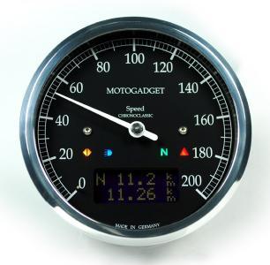 Motogadget Chronoclassic Speedo - Keband