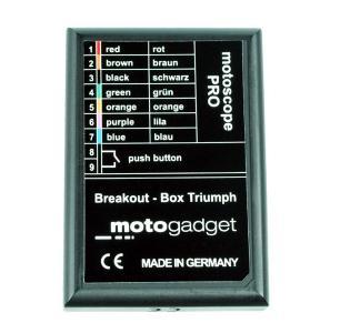 Motogadget Breakout Box Triump - Keband
